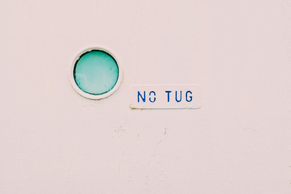 No tug.