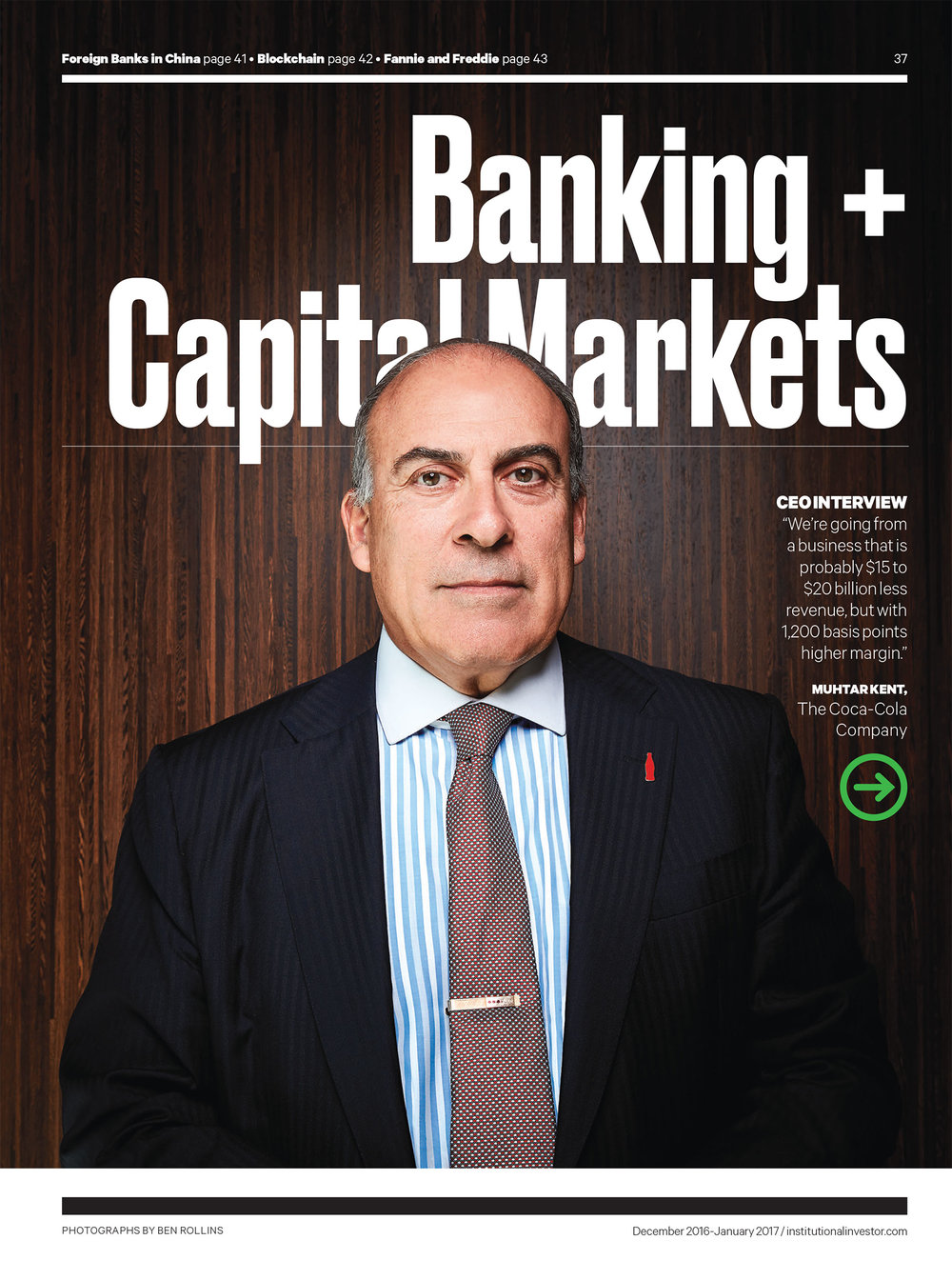 Client: Institutional Investor Magazine