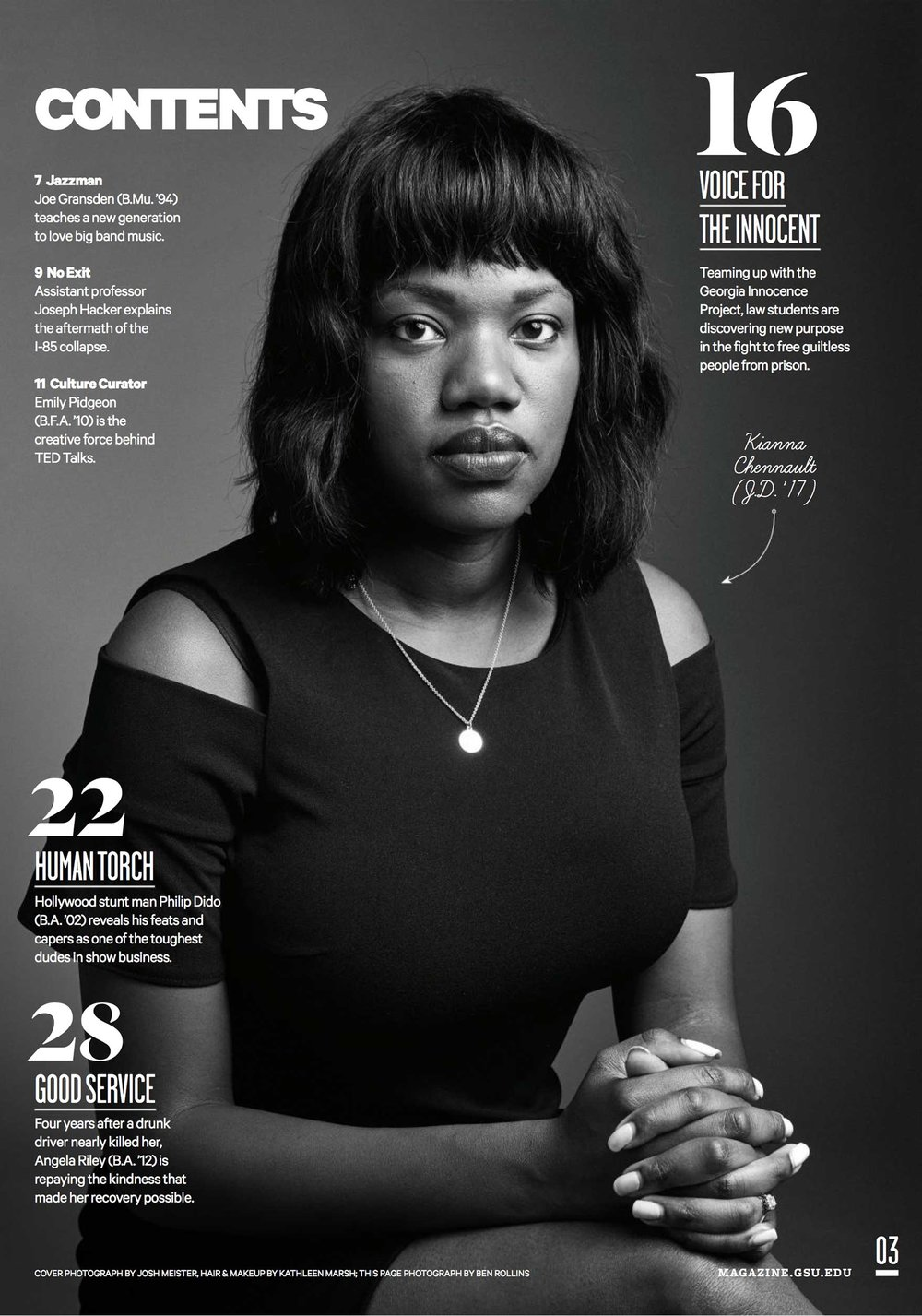 Client: GSU Magazine