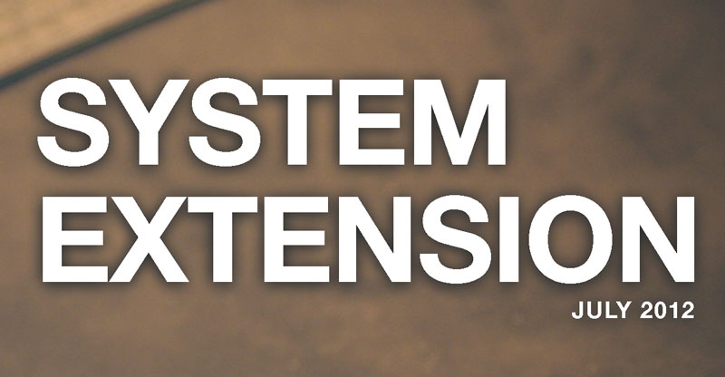 System Extension