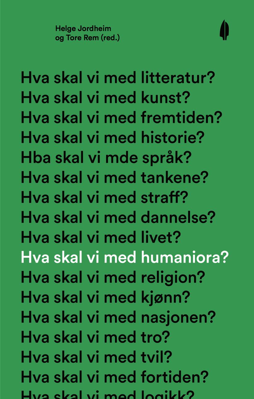 Hva skal vi med humaniora?(2014)