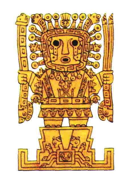 Øyner som ser: Det er lite historisk belegg for å hevde at inkaguden Viracochas øyne kan sees på som voktende.