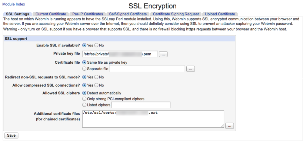 Use One SSL Certificate in an ISPConfig3 Configuration — REDELIJKHEID
