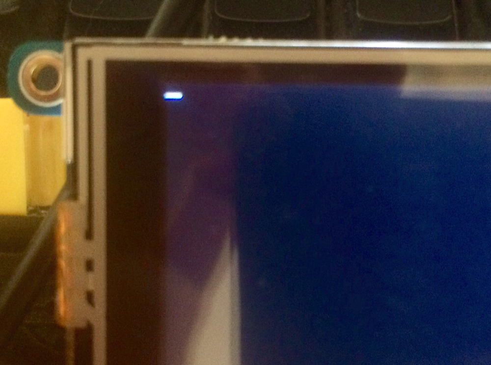 No Pi desktop. Only a cursor
