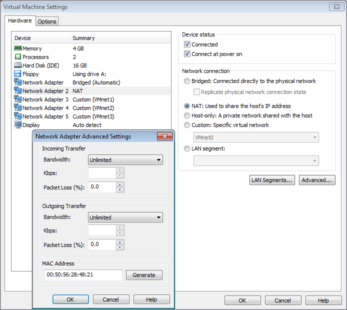Run Juniper Virtual SRX in VMWare Workstation — REDELIJKHEID