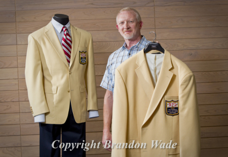 on sale 22a8d 25ae0 Haggar, Pro Football Hall of Fame Jacket — Brandon Wade ...
