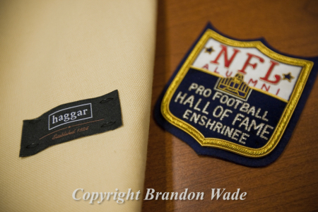 on sale d8605 7f44e Haggar, Pro Football Hall of Fame Jacket — Brandon Wade ...