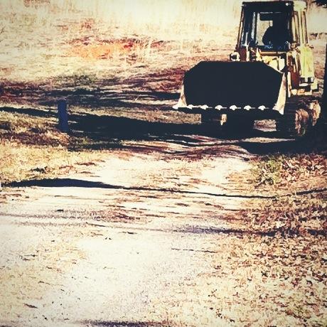Bulldozer Arrival.JPG