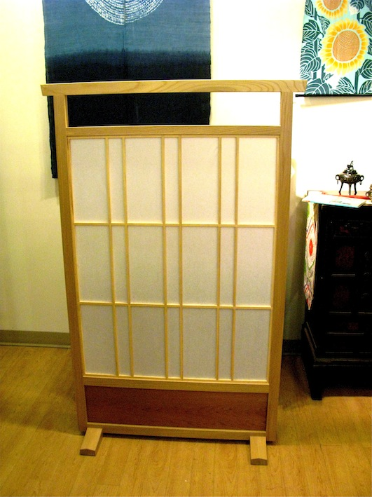 This Wood Is Special! Shoji Divider - Hand-Made in NS