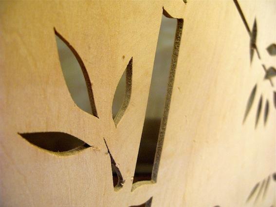 Hand-Made Wooden Screen
