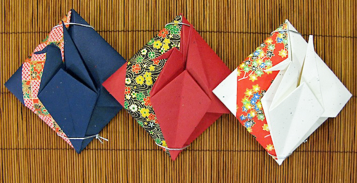Origami Paper Crane Envelope - DIY - Origami Kawaii〔#018〕 - YouTube | 364x709