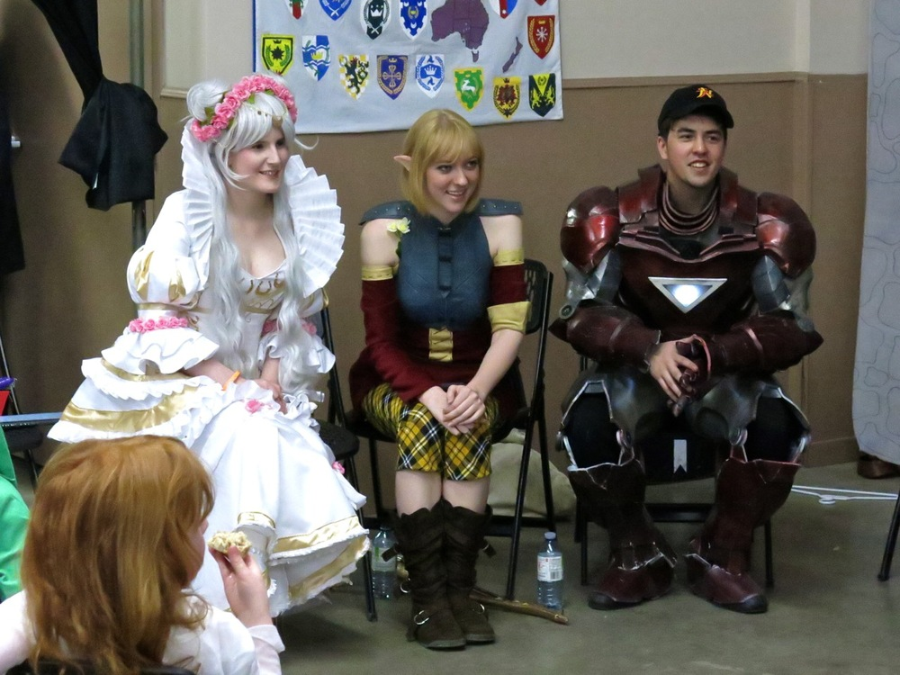Celebrity cosplayers too!