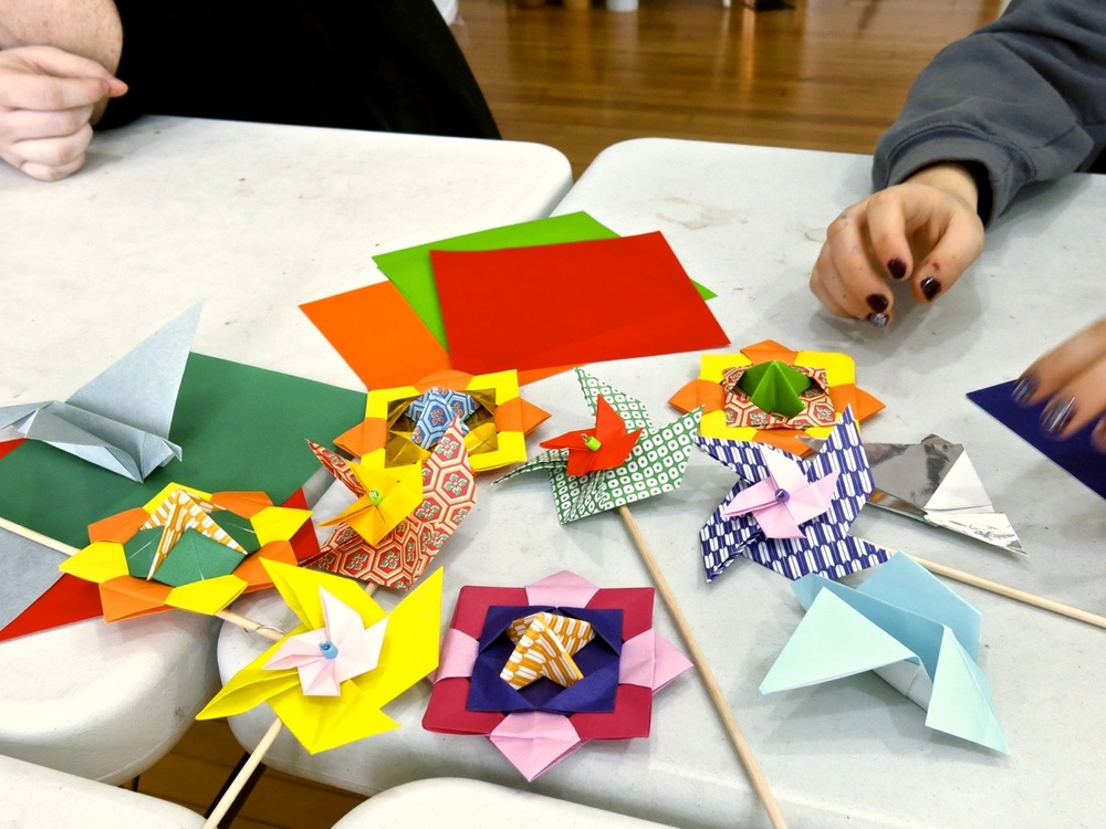 Thank you to all who attended our Origami-In-Motion workshop. Hope you had fun!