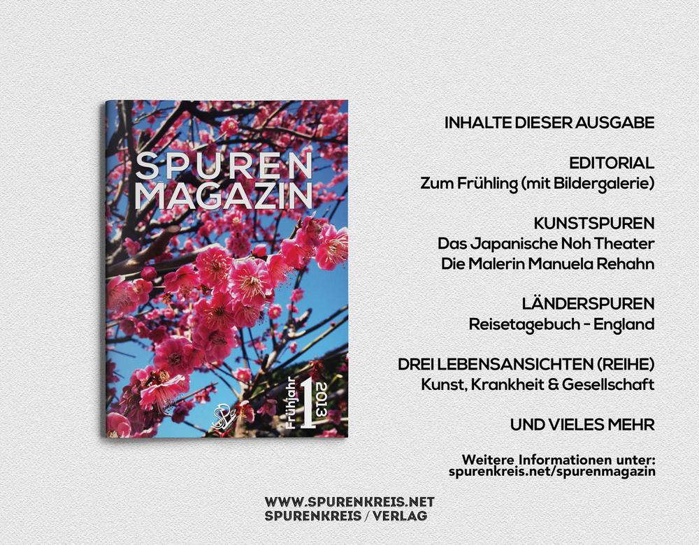 Spurenmagazin - Frühjahrsausgabe 2013