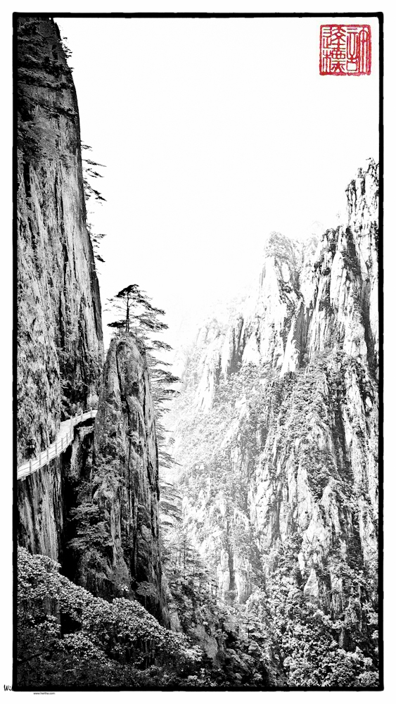 Huangshan China, May 17, 2008; Leica D-Lux 3, ISO 100, 9.3mm, f/4.5, 1/160sec