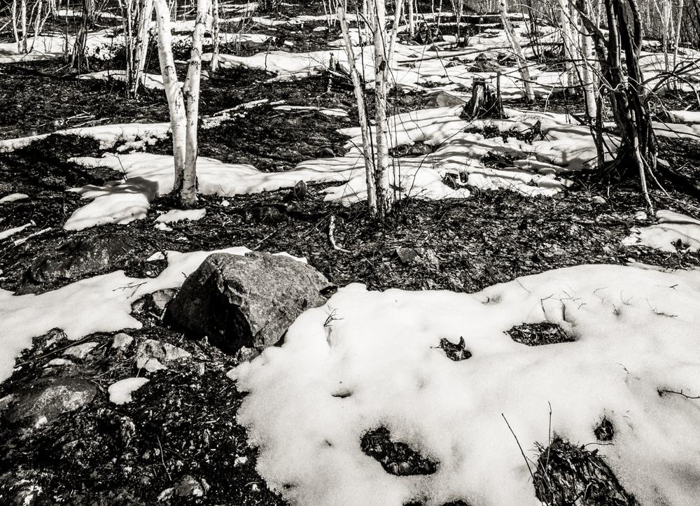 Snow Chiaroscuro, Leica M9, Leica Super-Elmar-M 18mm, ISO 160, f/16, 1/180 sec