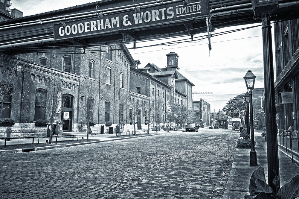 The Distillary District: Gooderham & Worts