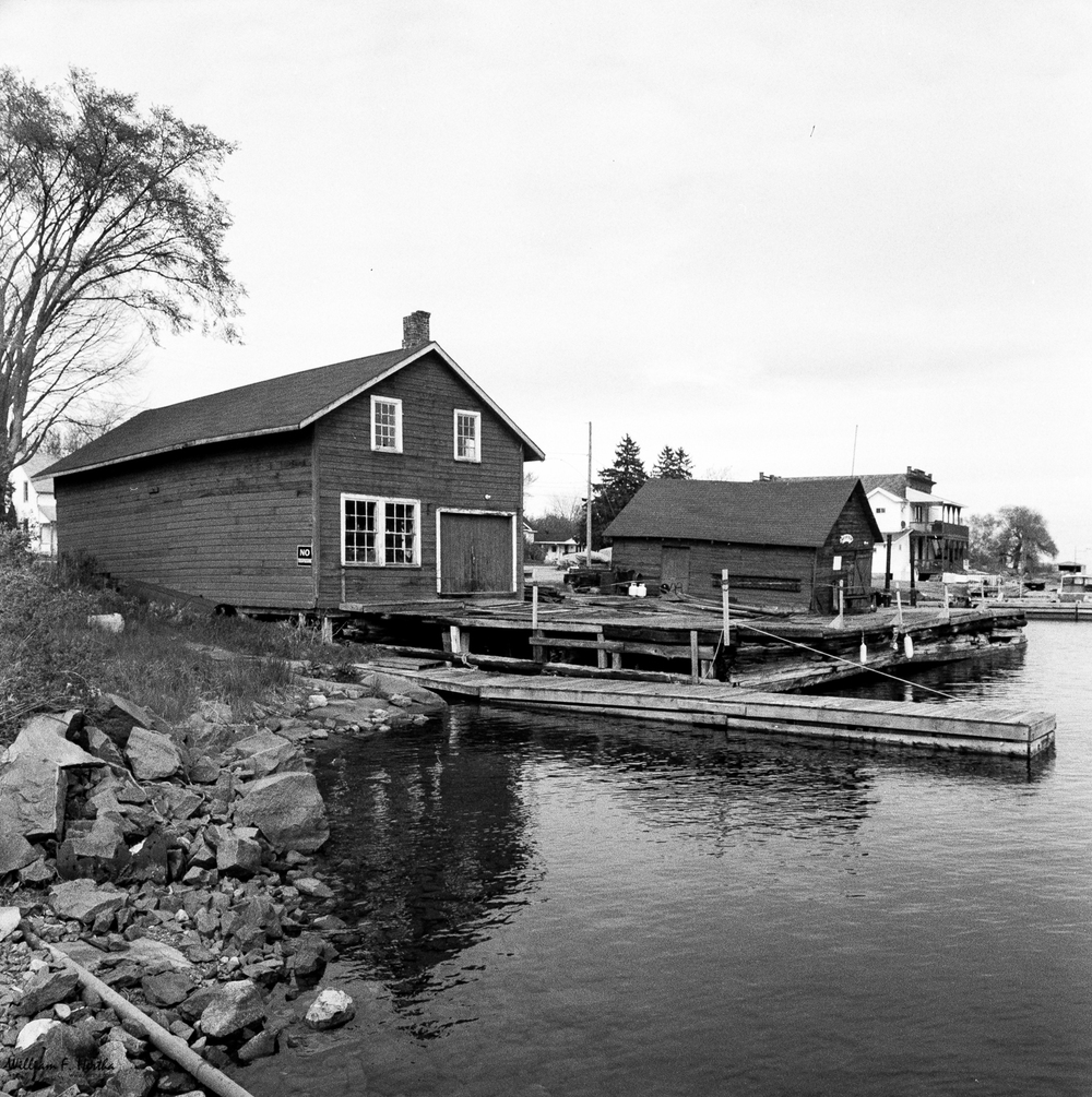 Boathouse on Killarney Channel