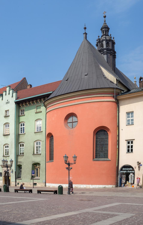 A Quiet Street in Krakow