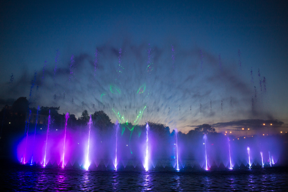Multimedia Fountains, Warsaw