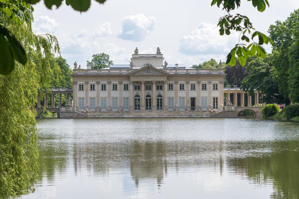 Wyspie Palace, Warsaw