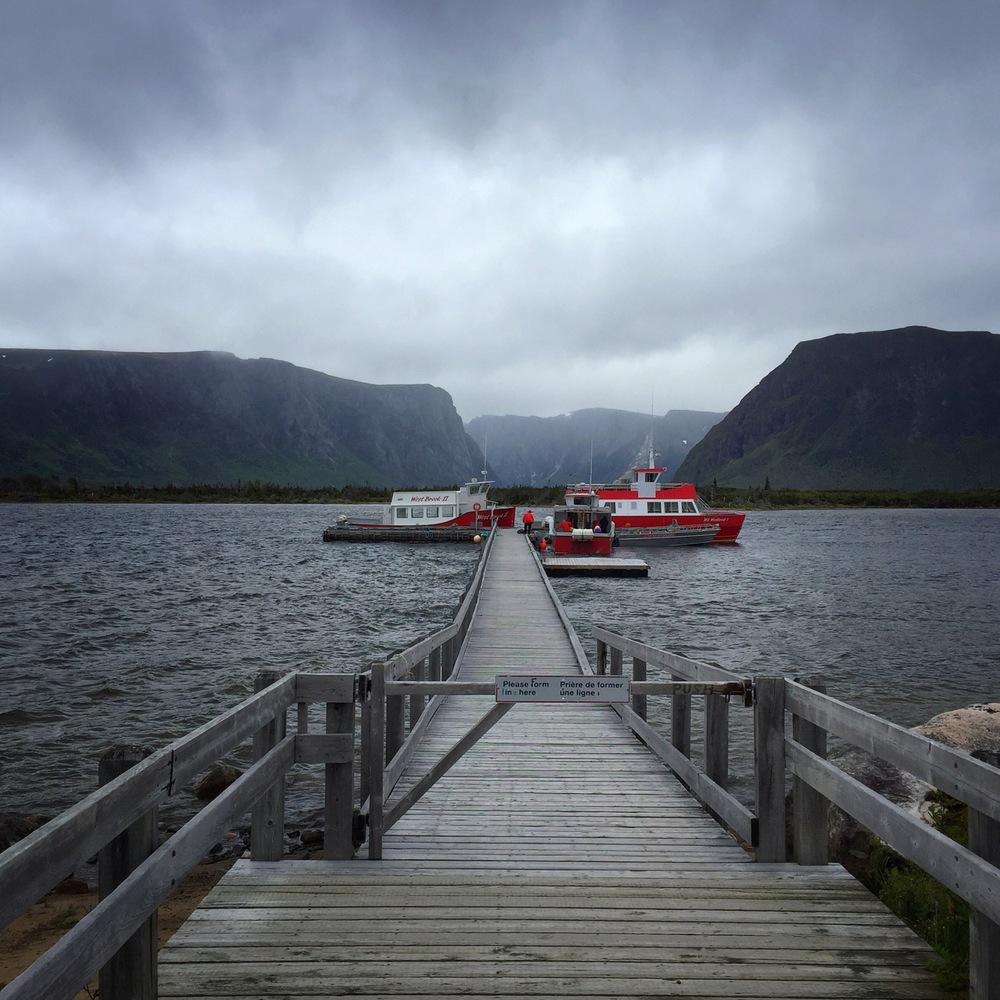 Tour Boats at Docks