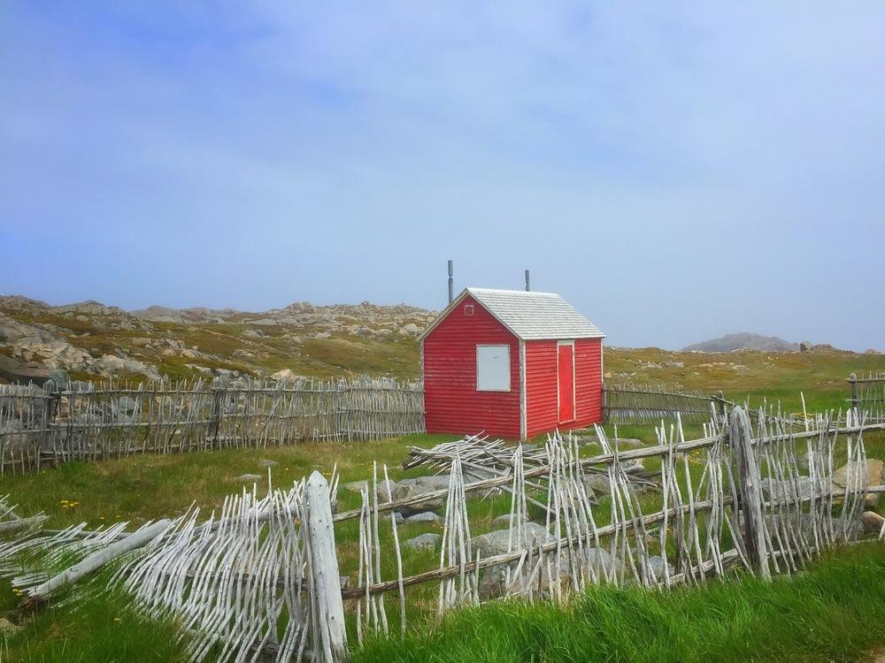 Hut near Lighthouse on Cape Bonavista