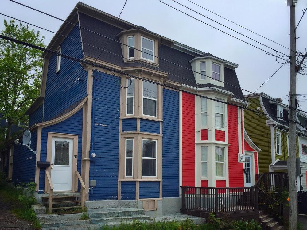 Row Houses on Pleasant Street