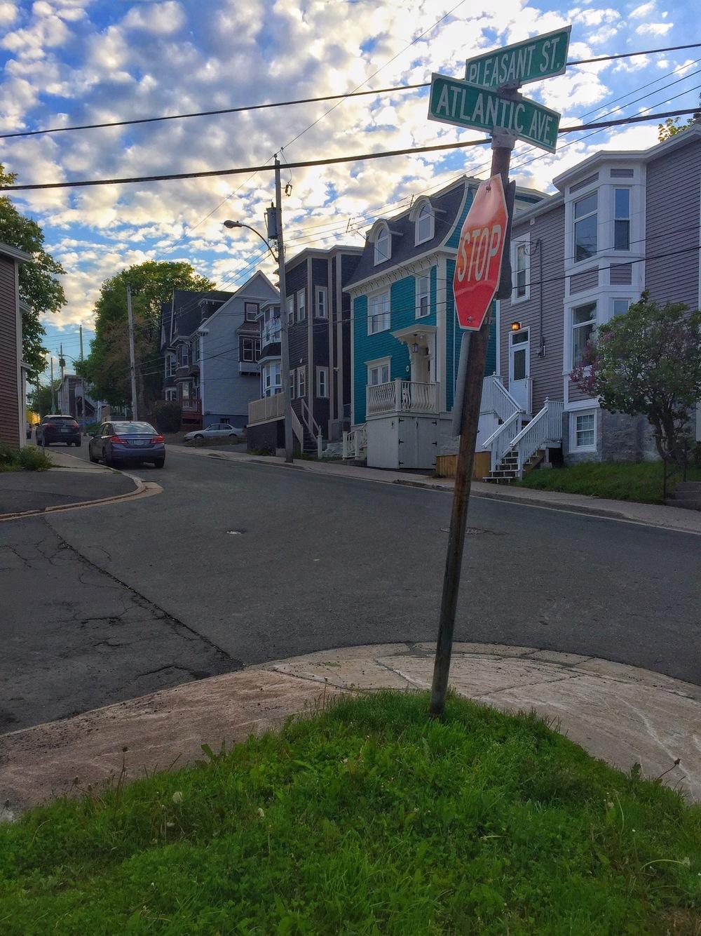 Atlantic and Pleasant Streets