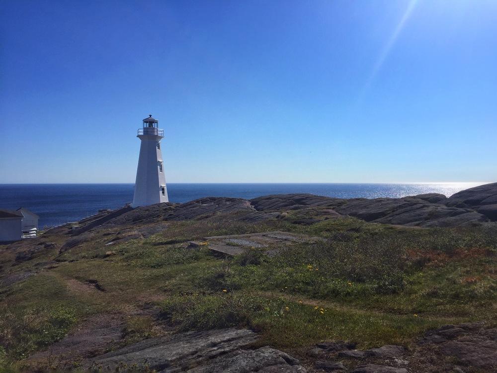 Lighthouse on Cape Spear