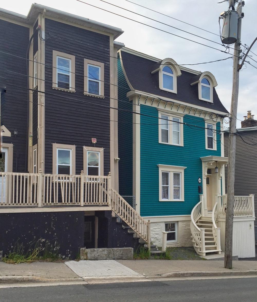 Houses on Pleasant Street