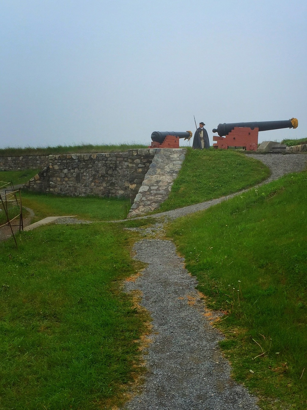 Guard Duty in Fortress of Louisbourg