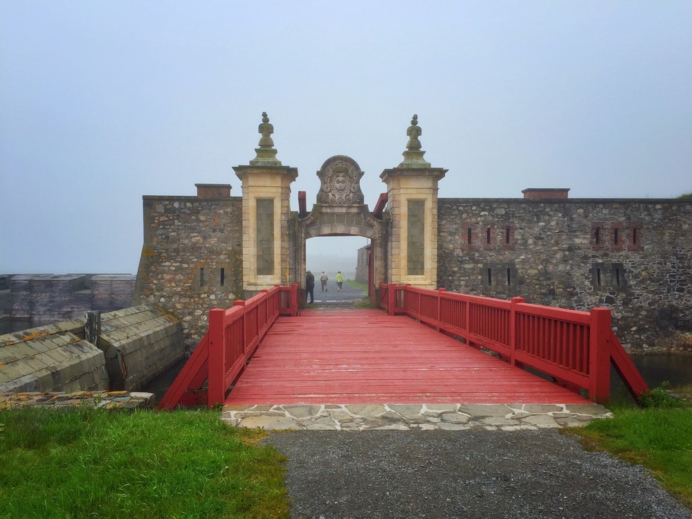 Entrance to Louisbourg