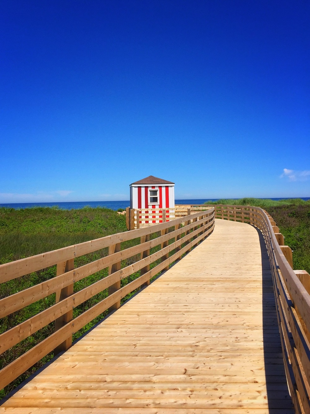 Boardwalk at Prince Edward Island National Park