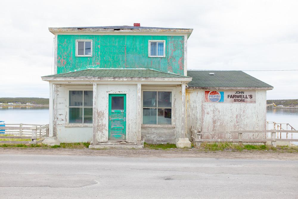 John Farewell's Store, Port aux Choix Newfoundland