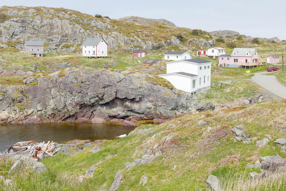Homes, Change Islands, Newfoundland