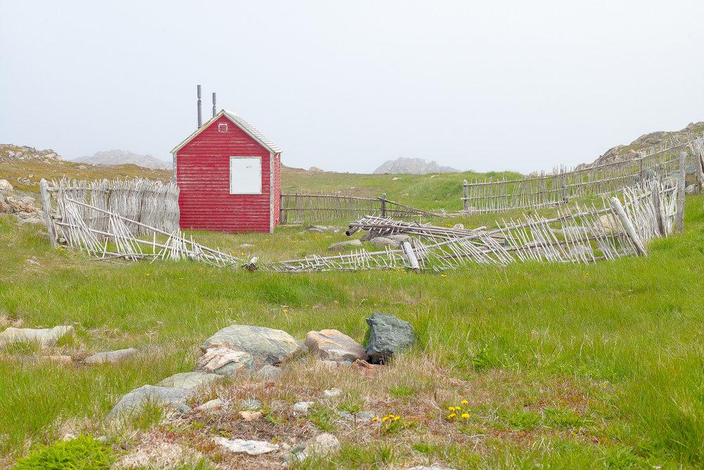 Hut, Bonavista, Newfoundland