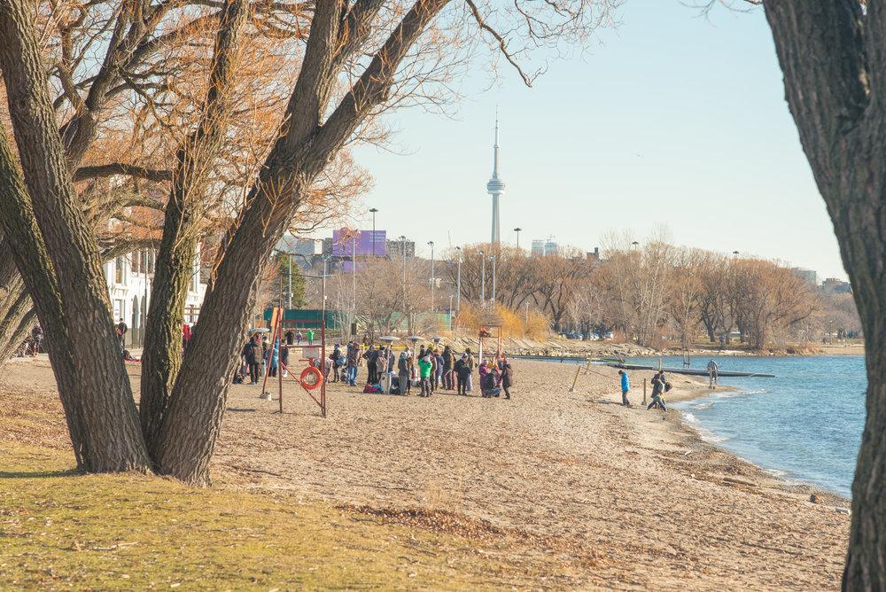 Sunnyside Beach, Lake Ontario