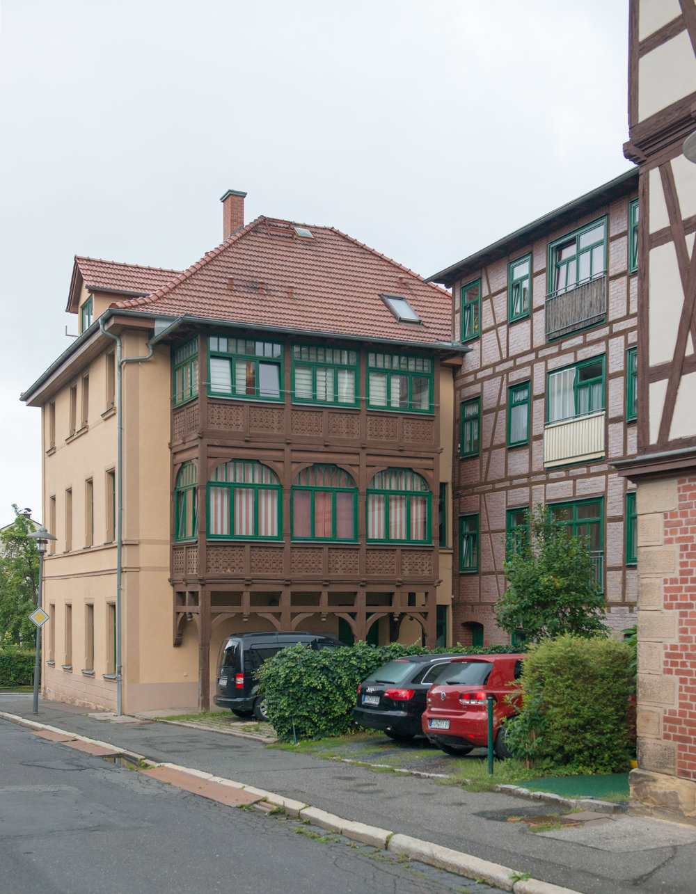 Bahnhofstr 4, Sonneberg (Rear view)
