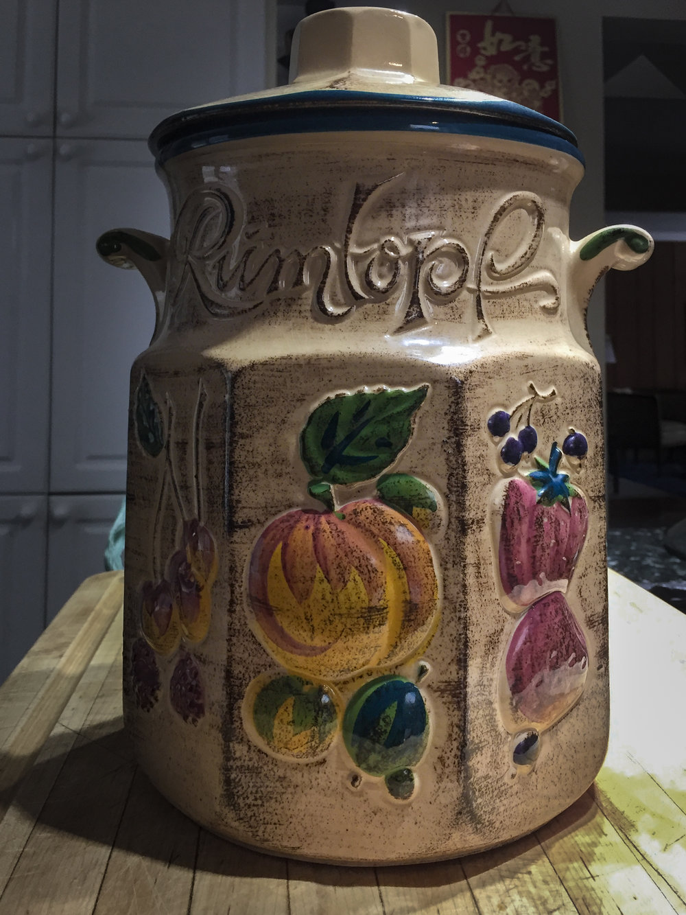 Rumtopf that I will use to hold the sauerkraut