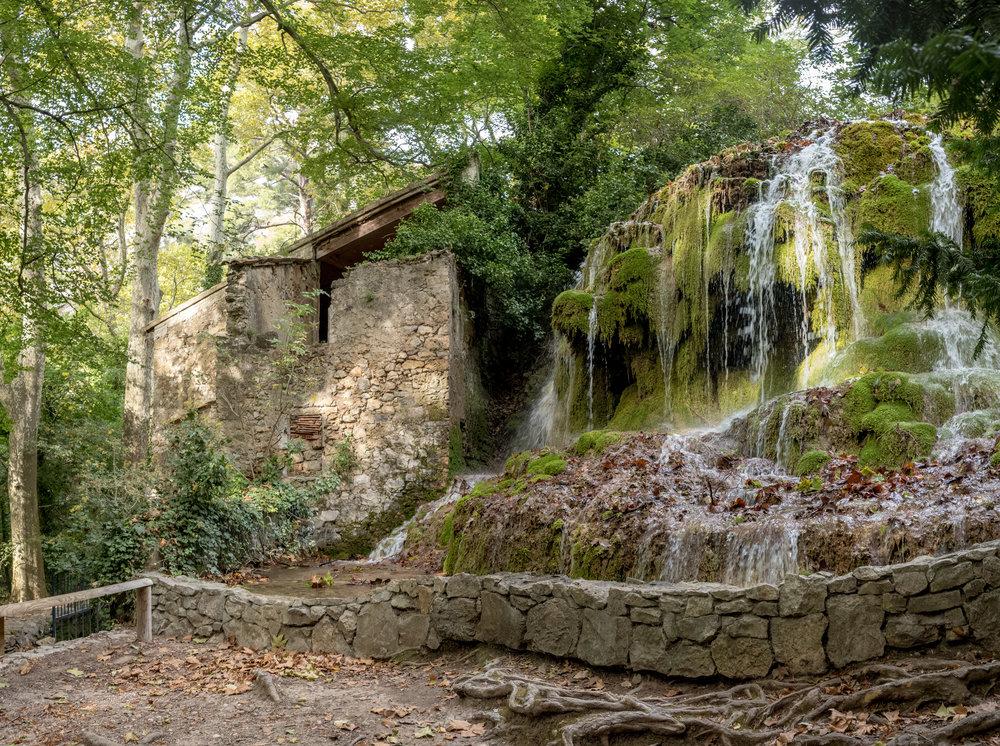 Ancient Water Mill, Parc de Saint-Pons, Gémenos, Bouches-du-Rhône, France