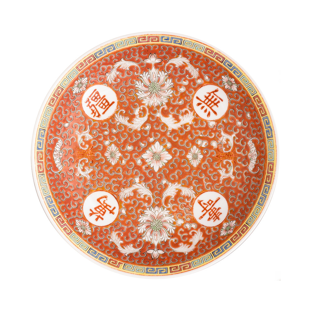Serving Plate, China