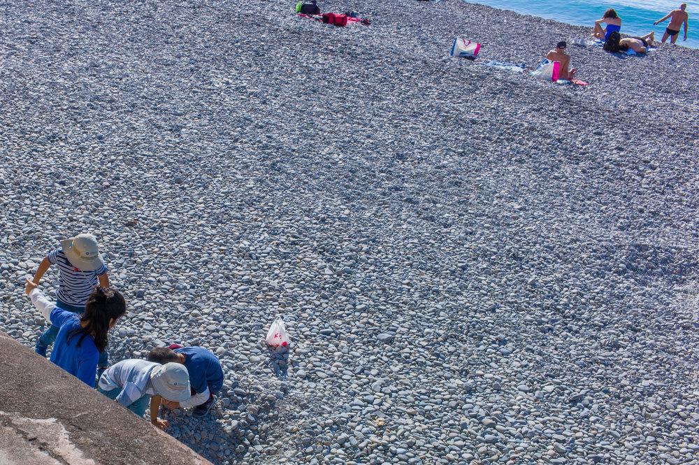 Beach, Nice, France