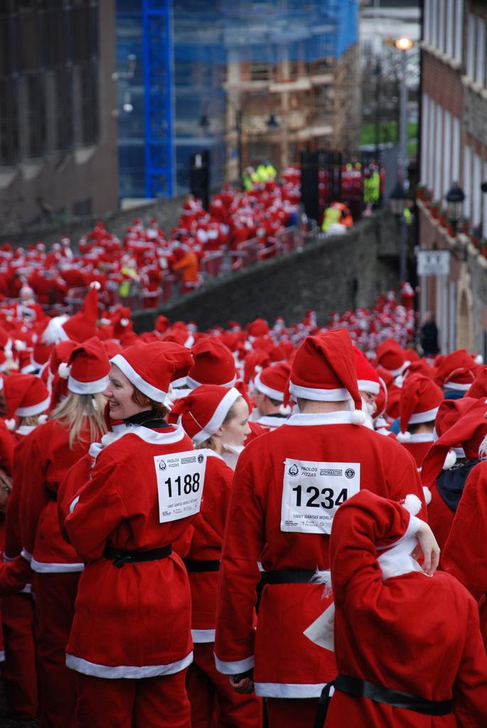 More Santas