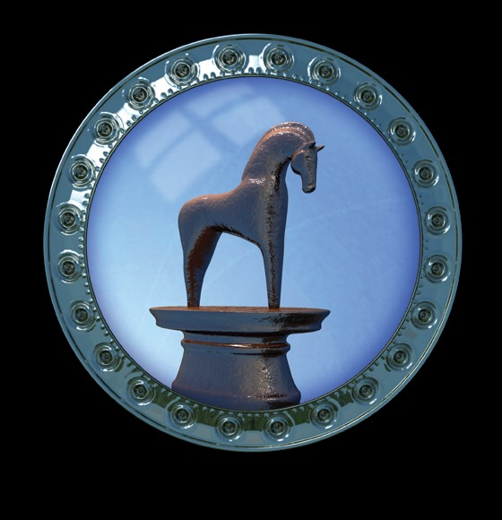 Celtic Horse Artifact