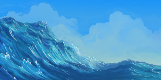 Water sketch from The Road to Eldorado