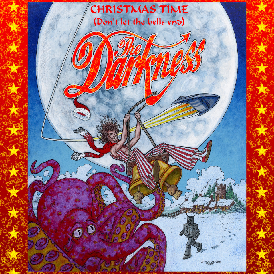 "The Darkness Xmas Single ""Don't let the bells end"""