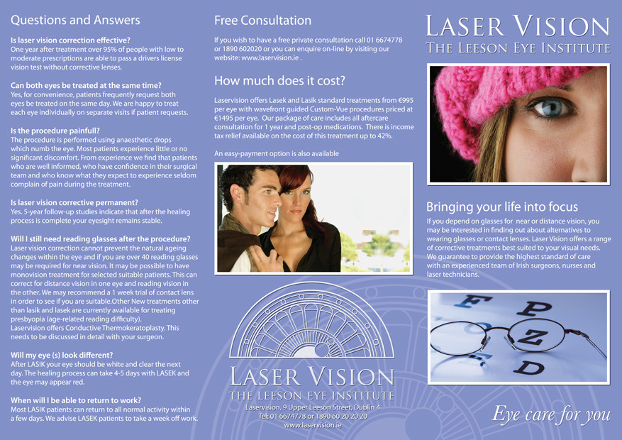 LaserVision Brochure