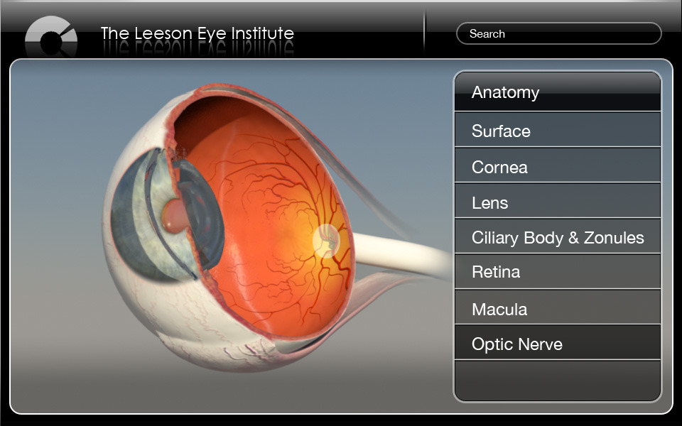 Ophthalmic Patient Education Application Design