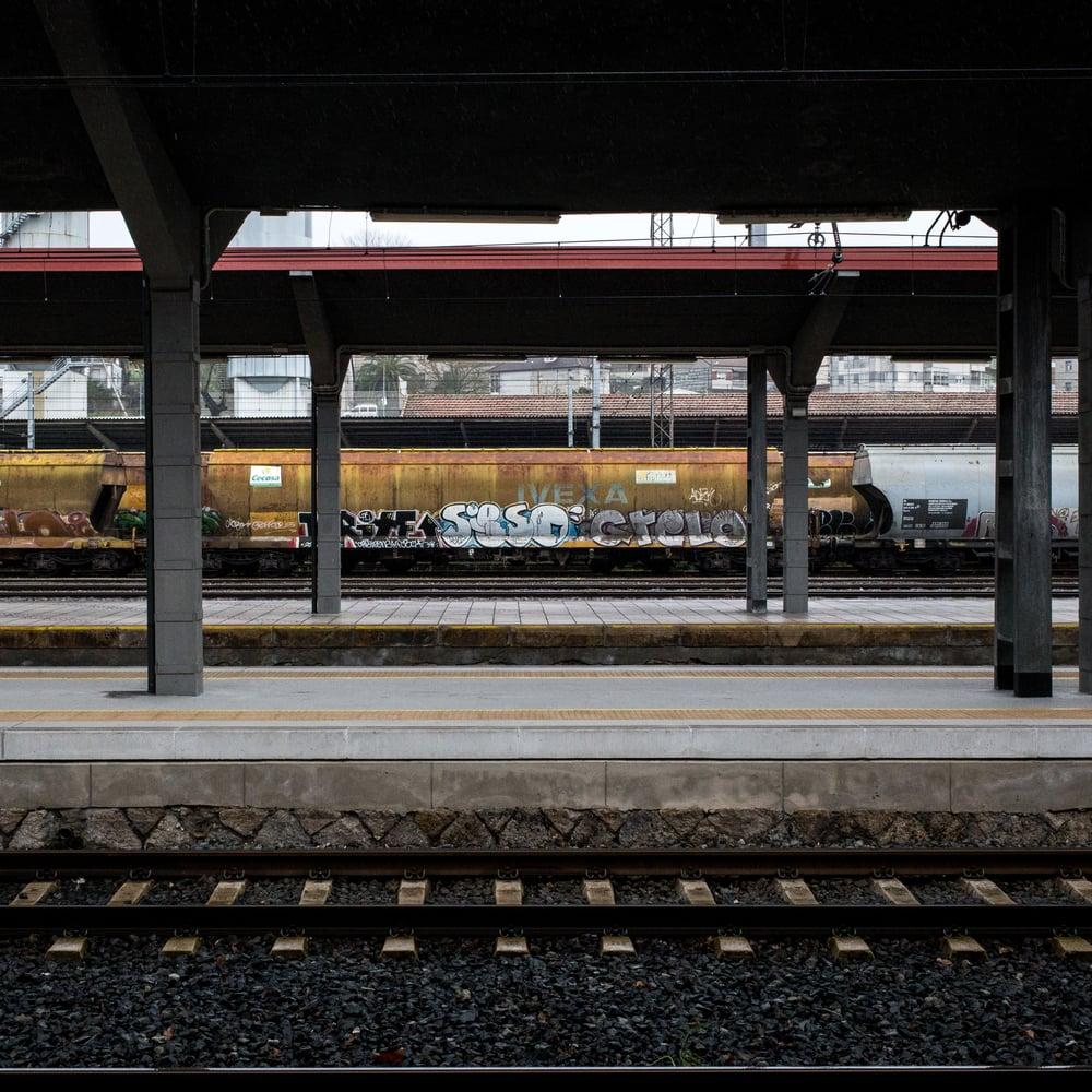 Orense train station